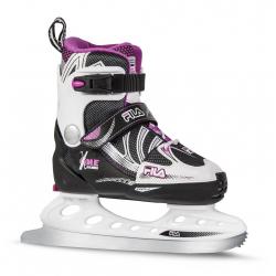 Detské ľadové korčule FILA SKATES-X-ONE ICE G BLACK/MAGENTA