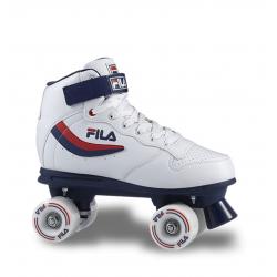 Dámske 4-kolieskové korčule FILA SKATES-ACE WHITE/BLUE/RED