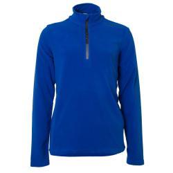 Chlapčenská lyžiarska flisová mikina BRUNOTTI-Tenno JR Boys Fleece-Blue