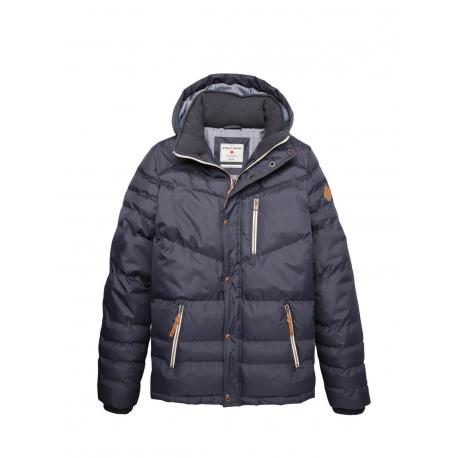 Bunda VOLCANO-J-FOX-Blue dark - Pánska bundaod značky Volcano.