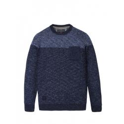 Pánsky sveter VOLCANO-S-LACUS-Blue