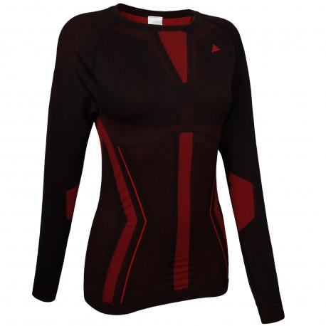 Dámske termo tričko s dlhým rukávom BERG OUTDOOR-CHUMERNA-WOMEN-Black