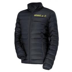 Pánska lyžiarska bunda HEAD-RACE TEAM Insulated Jacket black REBELS