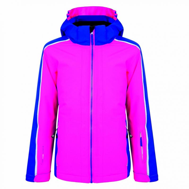 Detská lyžiarska bunda DARE2B Beguile Jacket pink - Detská lyžiarska bunda  značky Dare2B v peknom farebnom d45603566ab