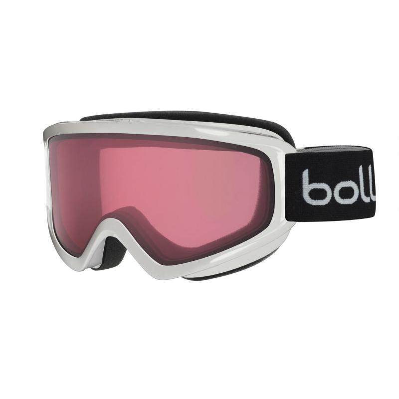 7332b0b06 Lyžiarske okuliare BOLLE FREEZE - SHINY WHITE - VERMILLON - Unisex lyžiarske  okuliare značky Bolle.