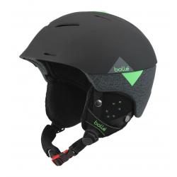 Lyžiarska prilba BOLLE SYNERGY - Soft Black   Green fd226c29f49
