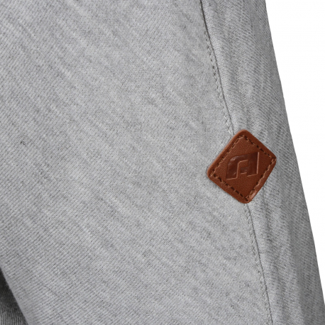 Dámska mikina AUTHORITY-S-TYA lt grey - Dámska mikina značky Authority s kontrastným vzorom na rukávoch.