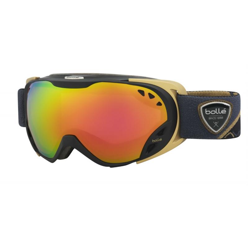 Lyžiarske okuliare BOLLE DUCHESS - BLACK   GOLD - ROSE GOLD - Unisex lyžiarske  okuliare značky e6f6b0dcede