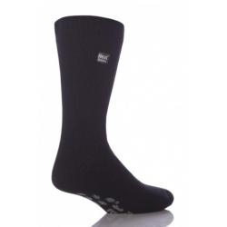 Pánske ponožky HEAT HOLDERS-Pánske ponožky ABS protišmykové SLIPPER Dark De