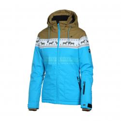 Dámska lyžiarska bunda REHALL DEER-R Snowjacket-Blue