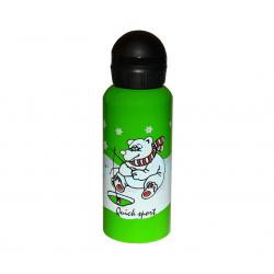 Športová termoska QUICK SPORT Fľaša Alu 400ml White Bear LZ400A-T