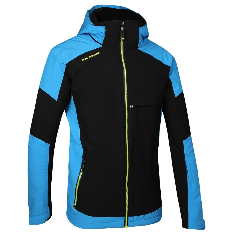Pánska lyžiarska bunda BLIZZARD MEN-Stubai-Black Blue - Pánska lyžiarska  bunda značky 665b9b953ab