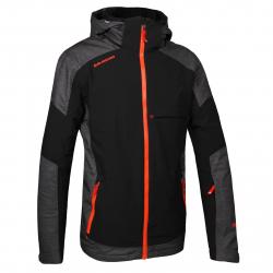 Pánska lyžiarska bunda BLIZZARD MEN-Stubai-Black/Orange