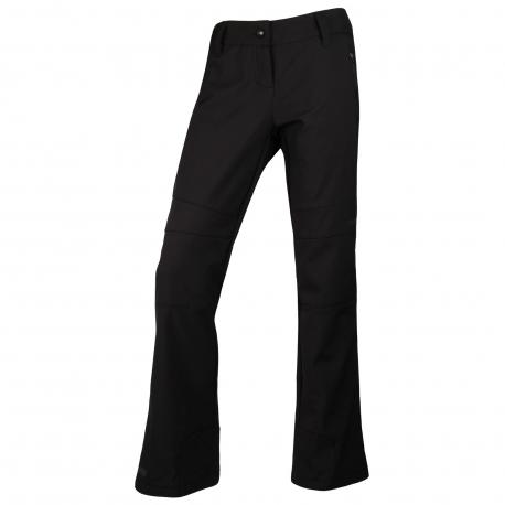 Dámske lyžiarske softshellové nohavice BLIZZARD WOMEN-Pitztal-softshellpants-Black - Dámske nohavice značky Blizzard vyrobené z 2-vrstvového materiálu.