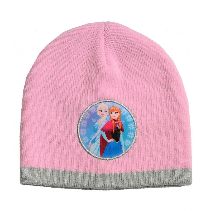 d706683c3 Detská zimná čiapka JFK-Čiapka basic Frozen PINK - Dievčenská ružová čiapka  značky JFK.