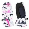 Detské lyžiarske rukavice AUTHORITY-GLOA white