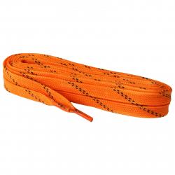 Šnúrky do korčulí PREMIUM voskované 12 mm, 310 cm, oranžové MMS