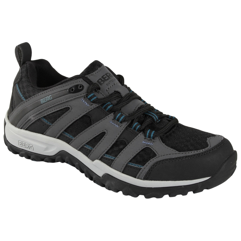 Pánska turistická obuv nízka BERG OUTDOOR-MEERKAT MN GR OD GREY - Pánska  trekkingová obuv 6ecbf890b98