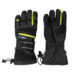 Lyžiarske rukavice AUTHORITY-GORONY neon