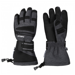 Lyžiarske rukavice AUTHORITY-GORONY dk grey