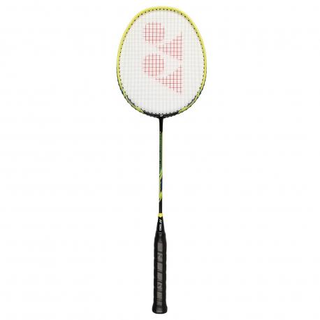 Badmintonová raketa pre profesionálov YONEX-NANORAY LIGHTING BLACK/YELLOW 3U 85g MEDIUM