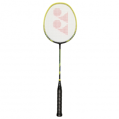Badmintonová raketa pro profesionály YONEX NANORAY LIGHTING BLACK / YELLOW 3U 85g MEDIUM
