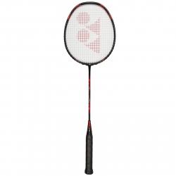 Badmintonová raketa pre profesionálov YONEX VOLTIC ATTACK BLACK/RED 4U 80g STIFF