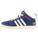 Juniorská zimná obuv stredná ADIDAS NEO-HOOPS WTR MID K Blue - Juniorská obuv značky adidas vo vyššom strihu.