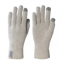Bežecké rukavice ADIDAS-PERF GLOVES CON MEDIUM GREY