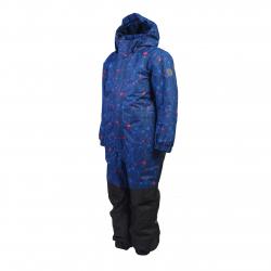 Chlapčenský zimný overal COLOR KIDS-Klement padded coverall-Blue