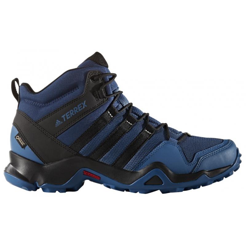 532a807b1 Pánska turistická obuv stredná ADIDAS-TERREX AX2R MID GTX  CORBLU/CBLACK/MYSBLU -