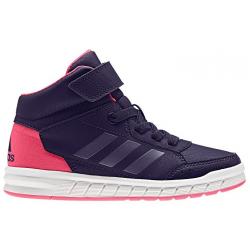 Dievčenská rekreačná obuv ADIDAS-AltaSport Mid EL K NOBINK/PUNIME/SUPPNK