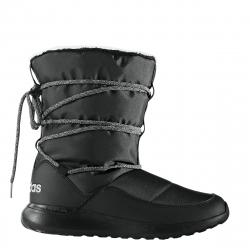 Dámska zimná obuv vysoká ADIDAS NEO-CF RACER WTR BOOT W CBLACK/GRETWO/SILVMT