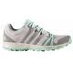 Turistická obuv nízka ADIDAS-TRACEROCKER W ICEPUR/CHSOGR/EASGRN - Dámska turistická obuv značky adidas špeciálne prispôsobená ženským nohám.