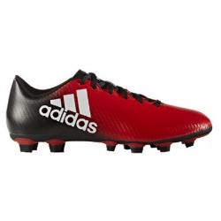 Pánske futbalové kopačky outdoorové ADIDAS-X 16.4 M FG RED FTWWHT CBLACK 5f24f44341