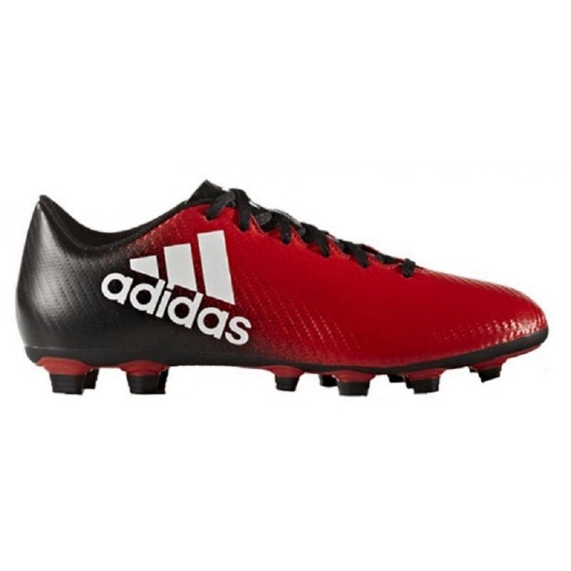 580e1fc8bd478 Pánske futbalové kopačky outdoorové ADIDAS-X 16.4 M FG RED/FTWWHT/CBLACK