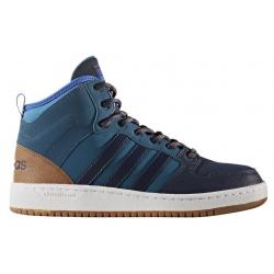 Pánska rekreačná obuv ADIDAS NEO-CF HOOPS MID WTR PETNIT CONAVY BLUE a189d815147