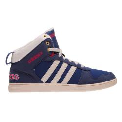 Juniorská zimná obuv stredná ADIDAS NEO-HOOPS WTR MID K Blue