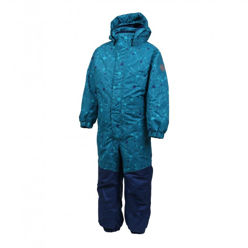 Chlapčenský zimný overal COLOR KIDS-Klement padded coverall-Blue light -  Detský lyžiarsky overal 5a255a09f33