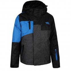 Chlapčenská lyžiarska bunda AUTHORITY-RONALL B black