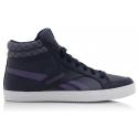 Dámska rekreačná obuv REEBOK-REEBOK ROYAL ASPIRE COLL NVY/SAGE/WHT/CO - Pohodlné dámske členkové topánky značky Reebok z populárnej kolekcie Classics.