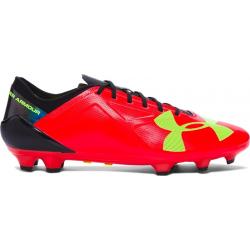 Pánske futbalové kopačky outdoorové UNDER ARMOUR-SpotLight BL M FG Rocket Red