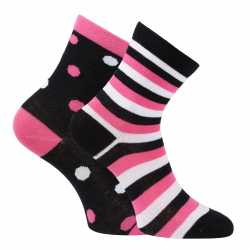 da5fe0719c8 Športové ponožky AUTHORITY-HIGH SOCK 2 DOTS PINK