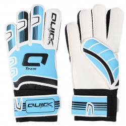 Futbalové brankárske rukavice QUICK SPORT Brankárske rukavice TEAM SKYBLUE