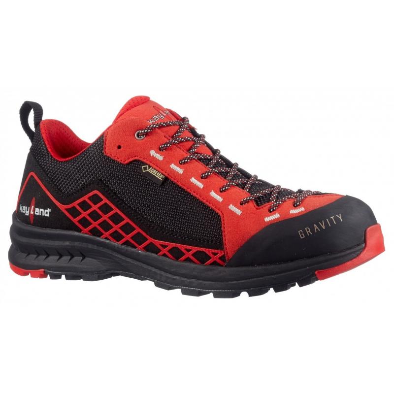 Turistická obuv nízka KAYLAND-Gravity GTX black/red -