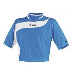 Juniorský futbalový dres s krátkym rukáv JAKO TRICOT BOCA azur-white