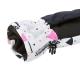 Lyžiarske rukavice AUTHORITY-GLOA white - Detské lyžiarske rukavice značky Authority v hravom dizajne.