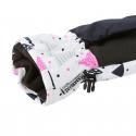 Detské lyžiarske rukavice AUTHORITY-GLOA white - Detské lyžiarske rukavice značky Authority v hravom dizajne.