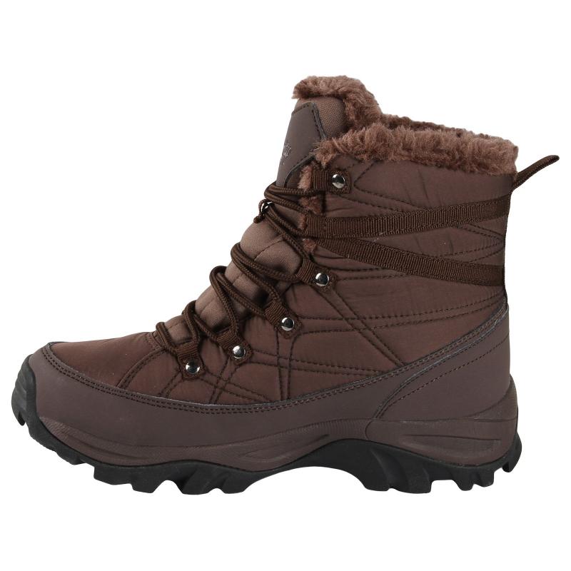 Dámska zimná obuv stredná AUTHORITY-Filona Brown - Dámska zimná obuv značky Authority v modernom dizajne.