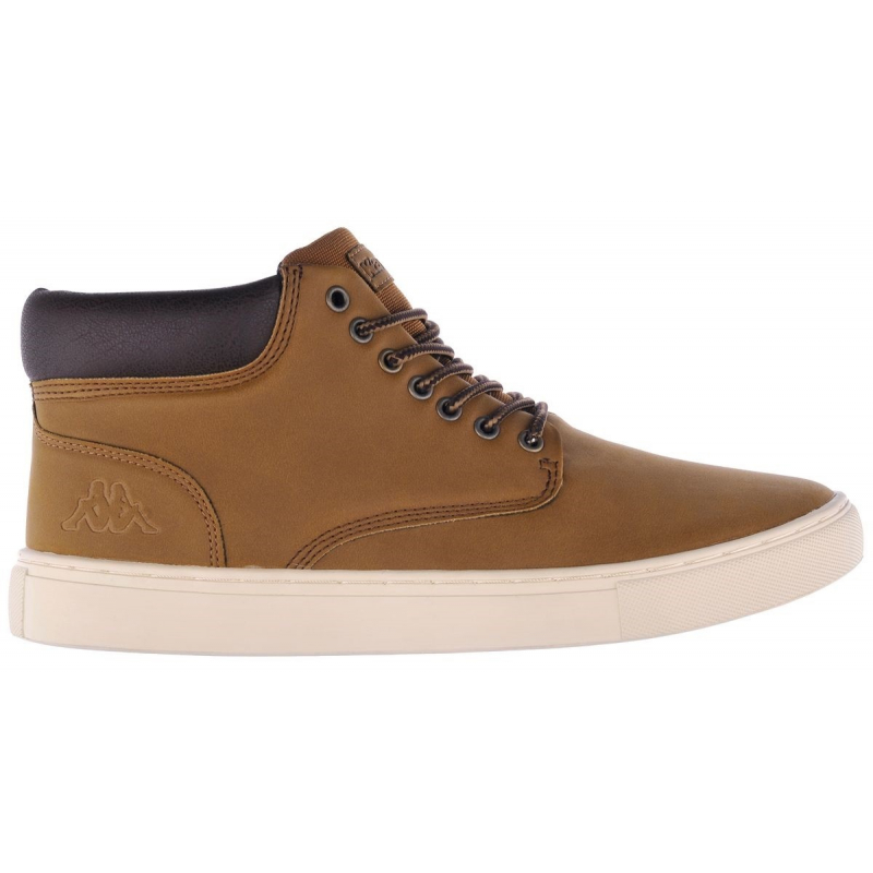 Pánska rekreačná obuv KAPPA-FOUTEM yellow - Pánska vychádzková obuv značky Kappa v klasickom nadčasovom dizajne.